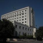 Bâtiment de la Ligue Arabe.Crédit photo : Pascaline