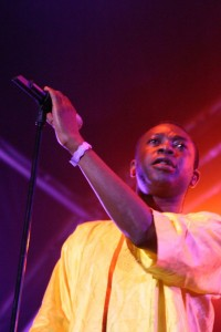 WOMAD 2005 - Youssou N'Dour et Les Super Etoiles de Dakar. Crédit photo : FlikR.  Damian Rafferty
