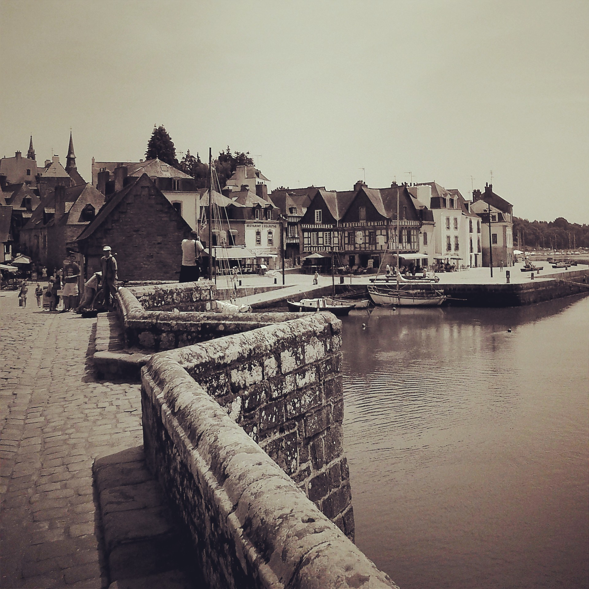 Auray, Bretagne, France. Crédit photo : Pascaline