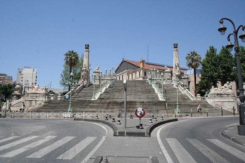 Gare Saint-Charles de Marseille (crédit photo:Robert Valette)