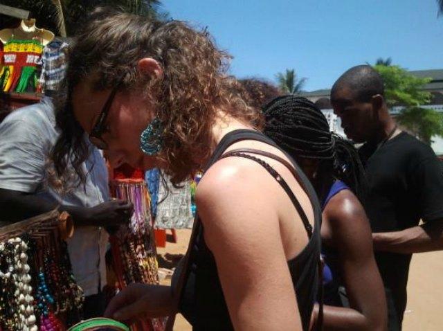 marché de Grand Bassam (Côte d'Ivoire). Crédit : Mariette Yao
