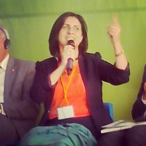 Vera Baboun, maire de Bethléem, Palestine. Crédit photo : Pascaline