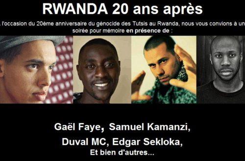 Article : Rwanda, 20 ans après je me souviens